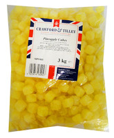 Tilleys Pineapple Cubes, by Tilleys,  and more Confectionery at The Professors Online Lolly Shop. (Image Number :14294)