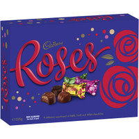 Short Date Special - 07/12/18 - Cadbury Roses Chocolates and more Confectionery at The Professors Online Lolly Shop. (Image Number :11837)