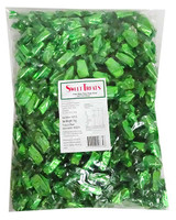 Sweet Treats Happy Party  Chews - Green, by Brisbane Bulk Supplies,  and more Confectionery at The Professors Online Lolly Shop. (Image Number :12986)