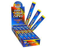TNT Giant Sour Chew Bars - Blue Raspberry, by AIT Confectionery,  and more Confectionery at The Professors Online Lolly Shop. (Image Number :11881)