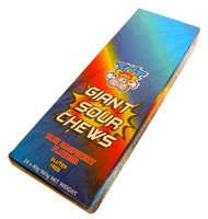 TNT Giant Sour Chew Bars - Blue Raspberry (24 x 40g)
