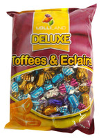 Deluxe Toffees & Eclairs (700g bag)