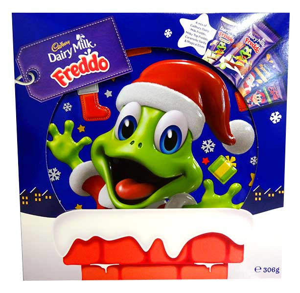Cadbury Freddo Xmas Gift Tin, by Cadbury,  and more Confectionery at The Professors Online Lolly Shop. (Image Number :12755)