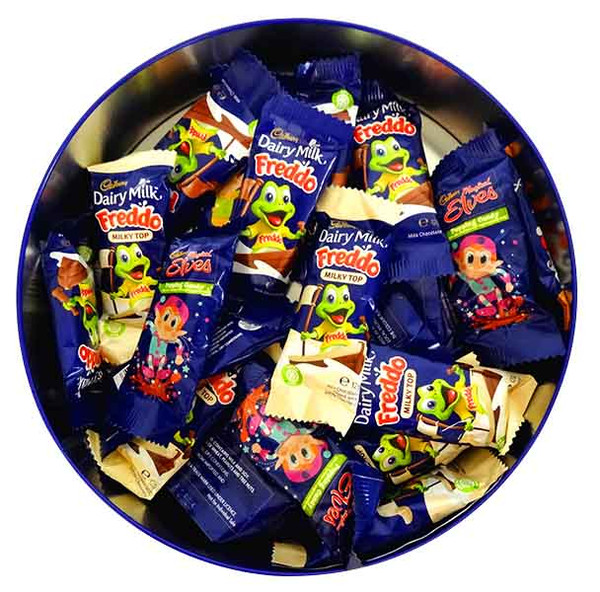 Cadbury Freddo Xmas Gift Tin, by Cadbury,  and more Confectionery at The Professors Online Lolly Shop. (Image Number :12757)