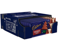 Cadbury christmas edition blocks ( 20x100g bar)