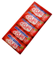 Mentos - Sugar free - Pure Fresh Gum - Strawberry, by Perfetti Van Melle,  and more Confectionery at The Professors Online Lolly Shop. (Image Number :12964)