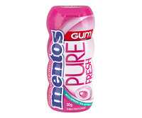 Mentos - Sugar free - Pure Fresh Gum - Bubblemint (10x 30g Bottle)