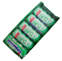 Mentos - Sugar free - Pure Fresh Gum - Spearmint, by Perfetti Van Melle,  and more Confectionery at The Professors Online Lolly Shop. (Image Number :12962)