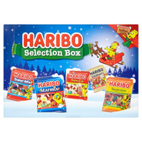 Haribo Selection Box - 7 individual 25g Bags, by Trolli,  and more Confectionery at The Professors Online Lolly Shop. (Image Number :11930)