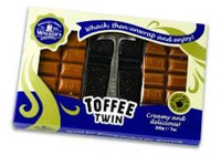 Walkers Original Creamy Toffee Twin with Hammer (200g Box)