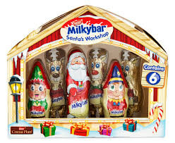 Milkybar Santas Workshop, by Nestle,  and more Confectionery at The Professors Online Lolly Shop. (Image Number :11960)