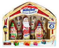 Milkybar Santas Workshop  (124g box )