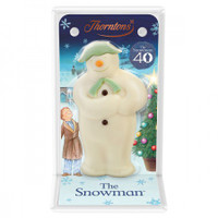 Thorntons  The Snowman - Hollow White Chocolate and more Confectionery at The Professors Online Lolly Shop. (Image Number :11961)