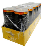 28 Black Energy Drink - Sour Mango Kiwi  (12 x 250ml Cans in a Display Unit)