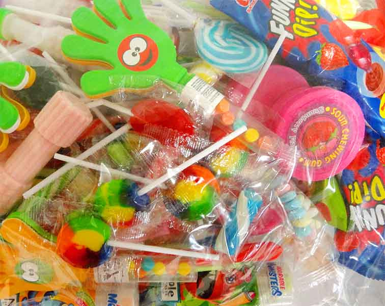 Sweet Treats - Jumbo Party Treats and more Confectionery at The Professors Online Lolly Shop. (Image Number :12187)