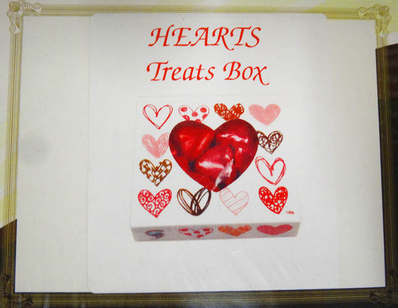 Chocolate Gems - KC Hearts Treats Box - Pink & Red, by Chocolate Gems,  and more Confectionery at The Professors Online Lolly Shop. (Image Number :13928)