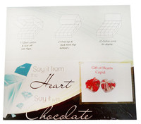 Chocolate Gems - Gift of Hearts - Cupid (12 x 140g in a Display Box)