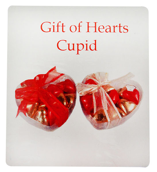Chocolate Gems - Gift of Hearts - Cupid, by Chocolate Gems,  and more Confectionery at The Professors Online Lolly Shop. (Image Number :12192)