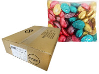 Chocolate Gems - Pastel Chocolate Half Eggs, by Chocolate Gems,  and more Confectionery at The Professors Online Lolly Shop. (Image Number :12179)