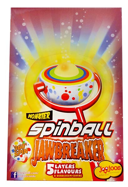 Monster Spinball Jawbreaker, by Confectionery Trading Company,  and more Confectionery at The Professors Online Lolly Shop. (Image Number :12185)