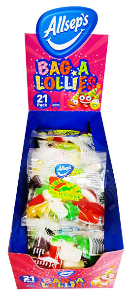 Allseps Bag of Lollies, by Allseps,  and more Confectionery at The Professors Online Lolly Shop. (Image Number :12210)