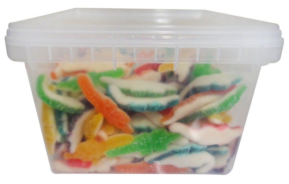 Chunky Funkeez Sour Crocodiles, by Candy Brokers,  and more Confectionery at The Professors Online Lolly Shop. (Image Number :12220)