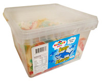 Chunky Funkeez Sour Sharks (Approx 238  in a display container)
