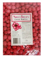 Sweet Treats Choc Balls - Pink (1kg Bag)
