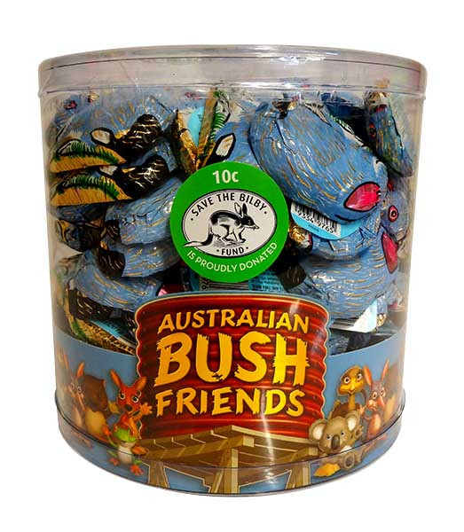 Australian Bush Friends Baby Bilbies, by Pink Lady,  and more Confectionery at The Professors Online Lolly Shop. (Image Number :11307)