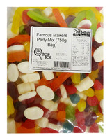 Famous Makers Party Mix, by Cadbury Fresha/Famous Makers,  and more Confectionery at The Professors Online Lolly Shop. (Image Number :12085)