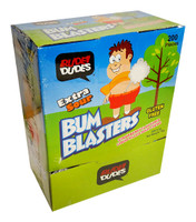 Rude Dudes -Bum Blaster Gum - Extra sour and more Confectionery at The Professors Online Lolly Shop. (Image Number :12094)