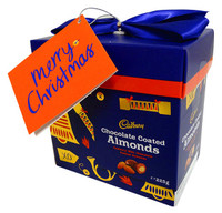 Cadbury Chocolate Coated Almonds ( 225g gift boxes) Xmas Clearance