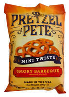 Pretzel Pete - Mini Twists - Smokey BBQ and more Snack Foods at The Professors Online Lolly Shop. (Image Number :12785)