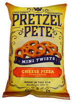 Pretzel Pete - Mini Twists - Cheese Pizza (100g bag)