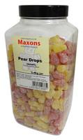 Maxons - Small Pear Drops (3.4kg Jar)