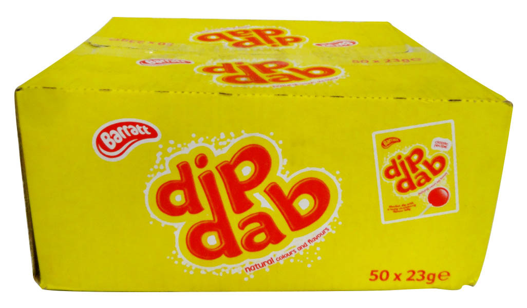 Barratt Dip Dab, by Barratts,  and more Confectionery at The Professors Online Lolly Shop. (Image Number :12748)