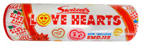 Swizzles Love Hearts Tube (108g - 10 mini rolls in tube)