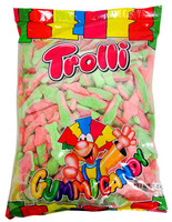 Trolli Watermelon Sharks, by Trolli,  and more Confectionery at The Professors Online Lolly Shop. (Image Number :13291)