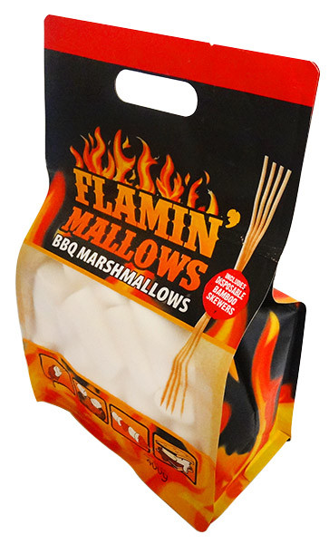 Flamin  Mallows - BBQ marshmallows and more Confectionery at The Professors Online Lolly Shop. (Image Number :12947)