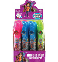 Wonder Park Magic Pen with lollipop, by Confectionery Trading Company,  and more Confectionery at The Professors Online Lolly Shop. (Image Number :12352)