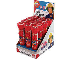 Fireman Sam Laser Projector, by Confectionery Trading Company,  and more Confectionery at The Professors Online Lolly Shop. (Image Number :12354)