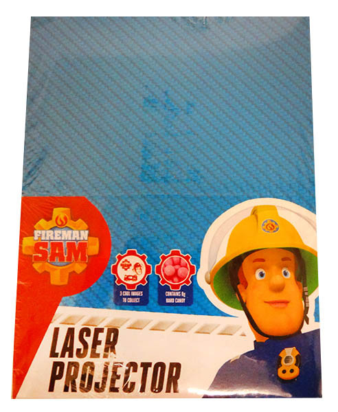 Fireman Sam Laser Projector, by Confectionery Trading Company,  and more Confectionery at The Professors Online Lolly Shop. (Image Number :13052)