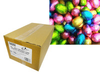 Chocolatier -  Foiled Hollow Milk Eggs Assorted Foil (15g egg x 150pc carton)