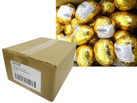 Chocolatier - Foiled Hollow Milk Eggs Gold and more Confectionery at The Professors Online Lolly Shop. (Image Number :14571)