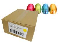 Chocolatier -   Foiled Hollow Milk Eggs Assorted Foil (100g egg x 12pc Carton)
