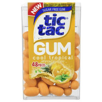 Tic Tac Gum - Tropical Gum ( 12 x 23.3g)