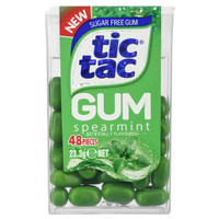 Tic Tac Gum - Spearmint Gum, by Ferrero,  and more Confectionery at The Professors Online Lolly Shop. (Image Number :12401)