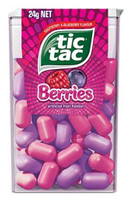 Tic Tac - Berries, by Ferrero,  and more Confectionery at The Professors Online Lolly Shop. (Image Number :12408)