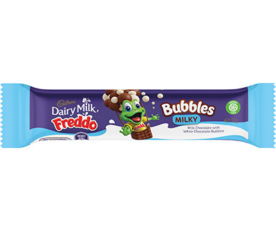 Freddo Bubbles - Milky, by Cadbury,  and more Confectionery at The Professors Online Lolly Shop. (Image Number :12409)