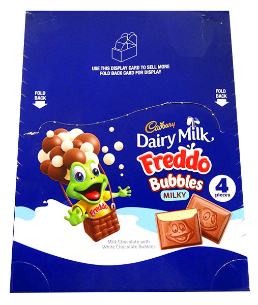 Freddo Bubbles - Milky, by Cadbury,  and more Confectionery at The Professors Online Lolly Shop. (Image Number :13054)